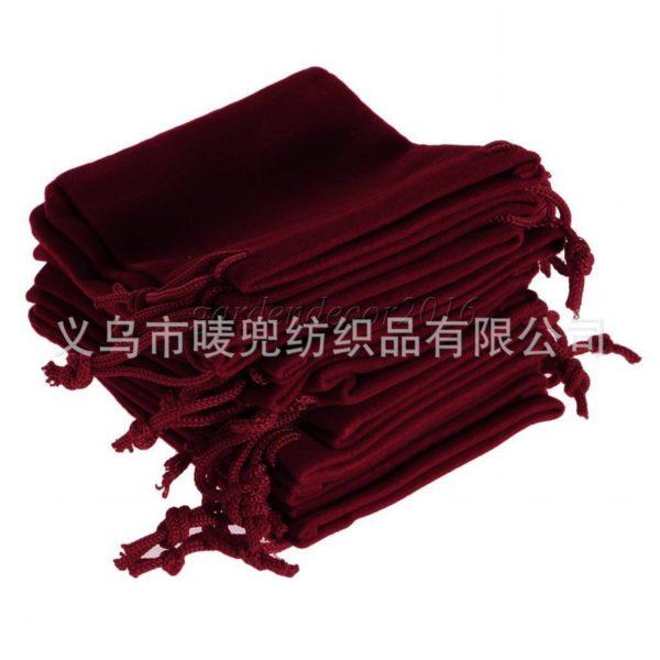 Túi vải nhung đựng sản phẩm