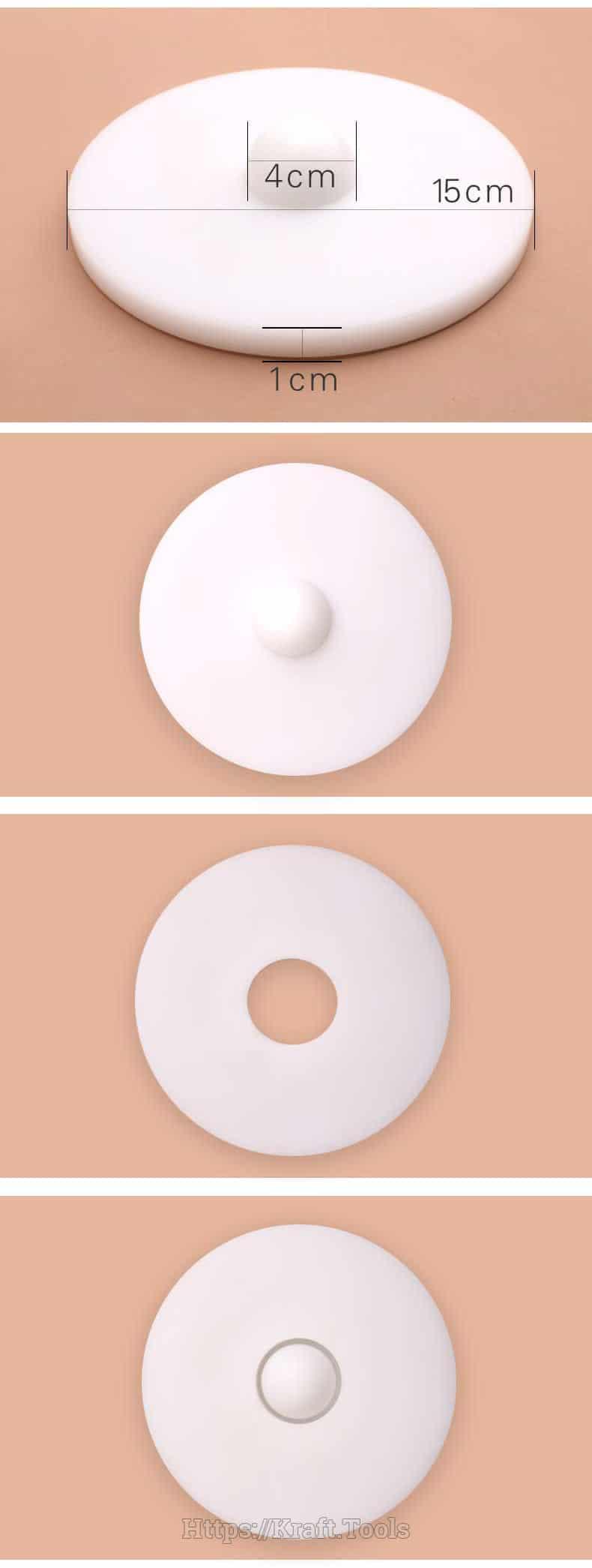 Khuôn ép da tròn cạnh lớn (2)
