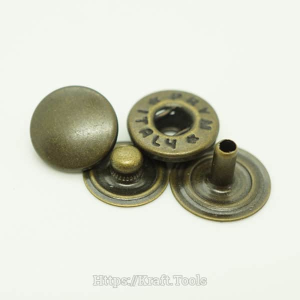 Nút bấm PRYm 4 chi tiết - Mặt thường - Đồng giả cổ
